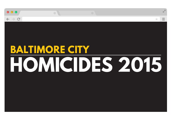 Baltimore's deadliest year